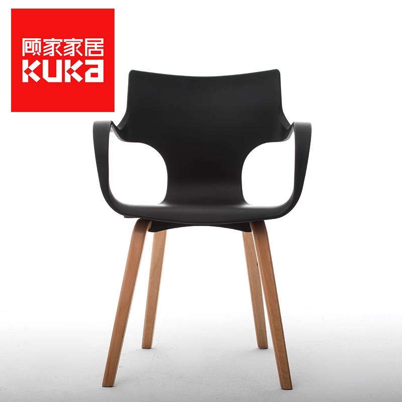 顾家家居实木餐椅105XJ