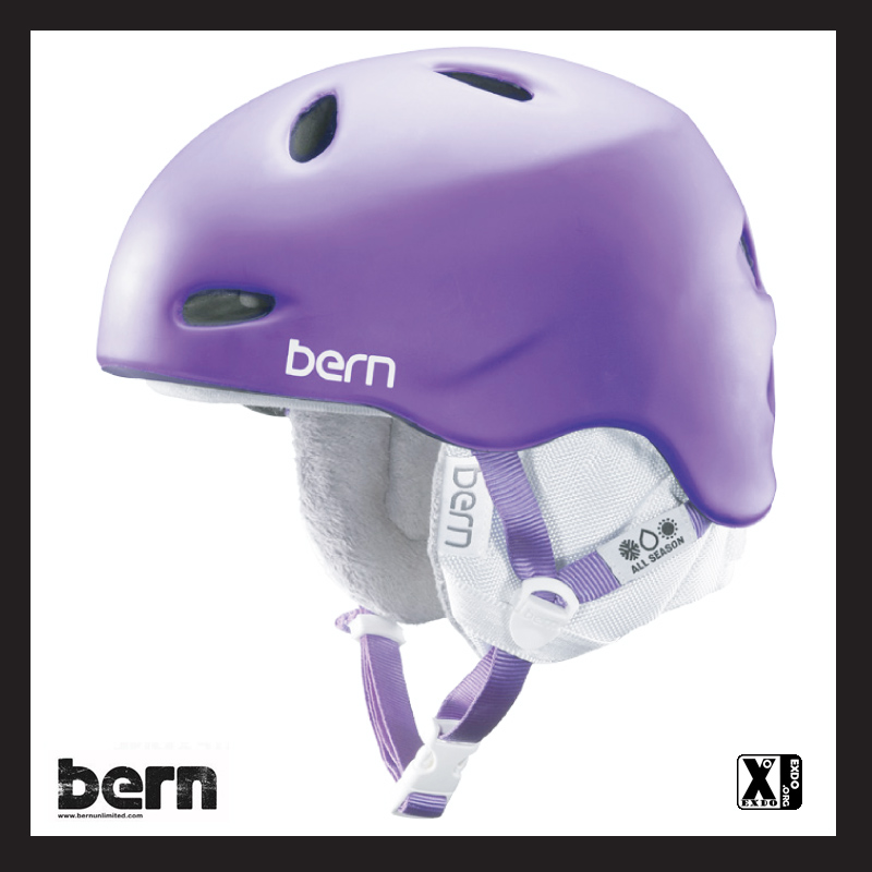 Bern w3mpl EXDO 14-15 Berkeley Matte Purple