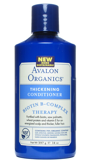 Avalon organics THICK3NING CONDITIONER B-COMPLEX avalon organics кондиционер с комплексом биотина avalon organics biotin b complex thickening conditioner av36122 400 мл