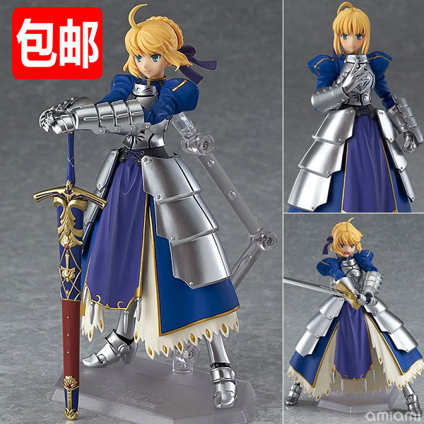 Куклы/ украшения/детали Figma 227 Fate Stay Night 2.0 Saber fate extra saber nero 1 7 scale japanese anime fate stay night saber extra nero action figure kotobukiya collectibles model toys