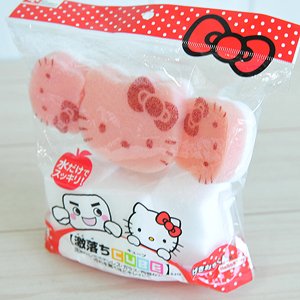 Губка Hello kitty Sanrio набор столовых приборов hello kitty