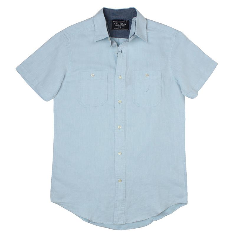 Рубашка мужская Nautica wr5218 15 куртка nautica 15 jc51113