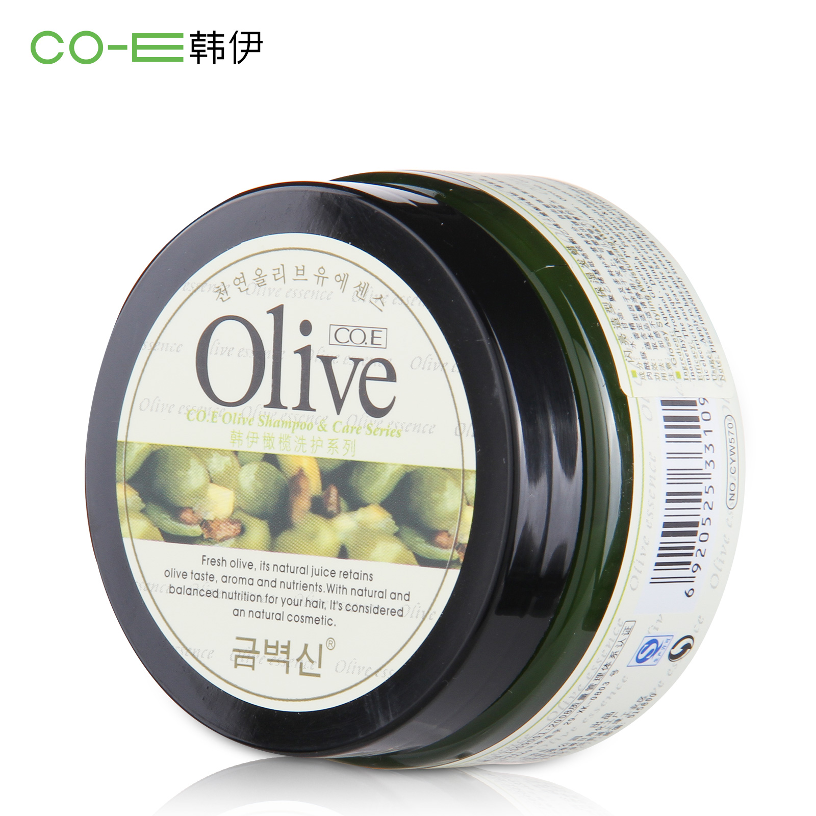 Аксессуары для укладки волос Co. e  CO.E -Olive 100g co e [co e ]skinbeauty 150ml
