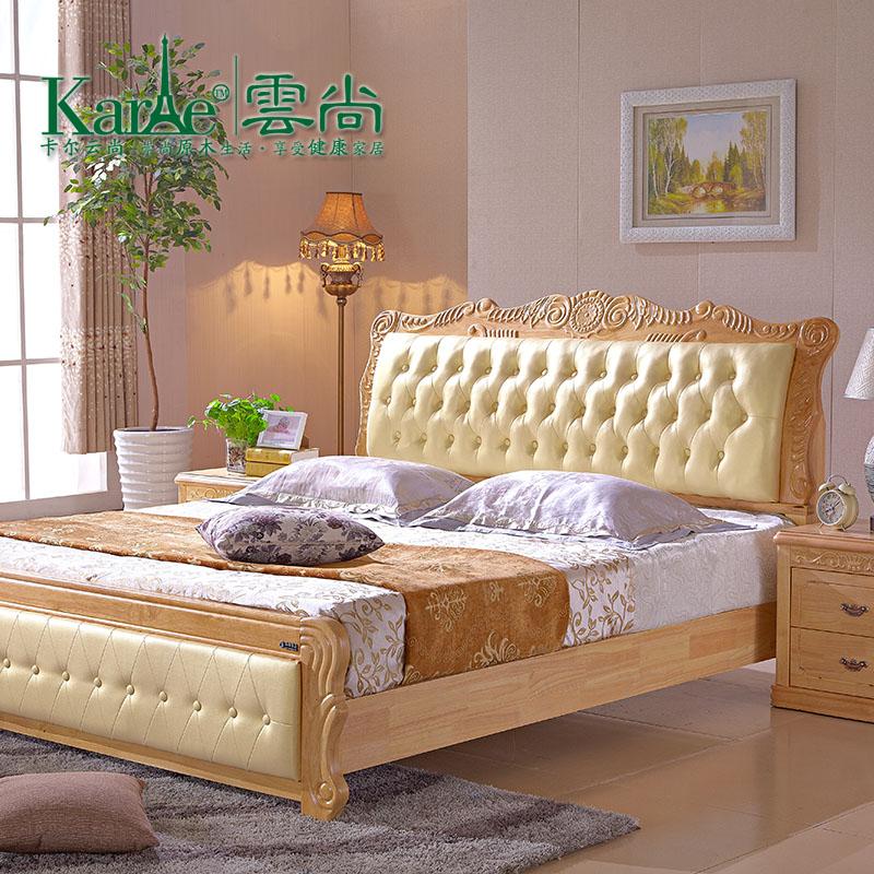 Кровать из массива дерева Kaeryun is 1.5 1.8 кровать из массива дерева xuan elegance furniture