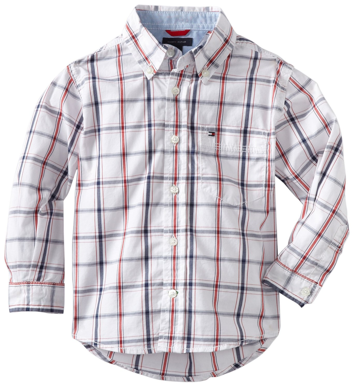 Рубашка детская Tommy hilfiger  2014 2-7 givenchy 2014 12g 2 7