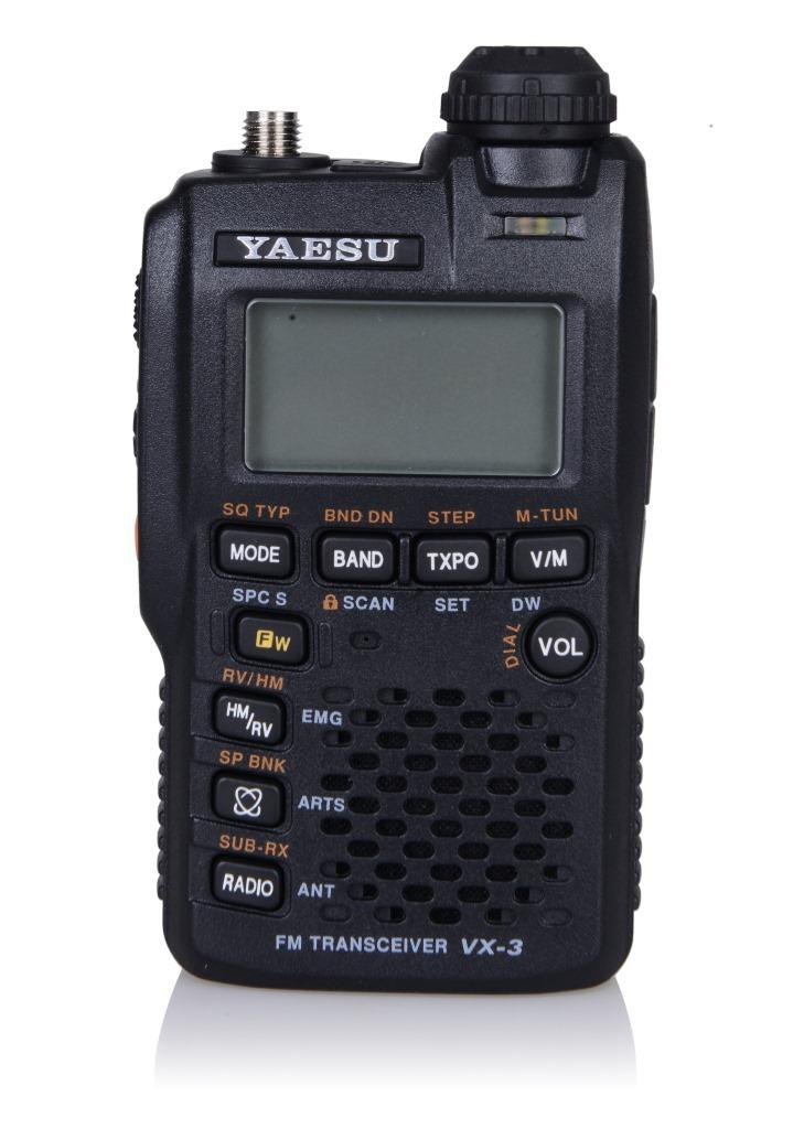 Рация  VX/3R YAESU VX-3R UV intego vx 135hd