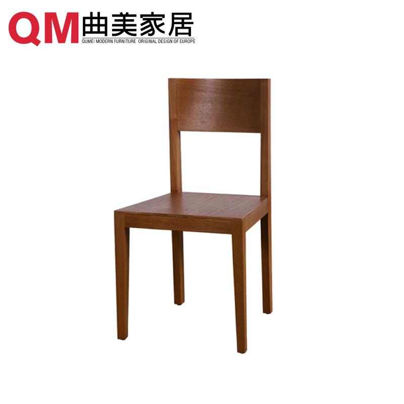 曲美家具时尚餐椅LZF-084-09C-C1-G
