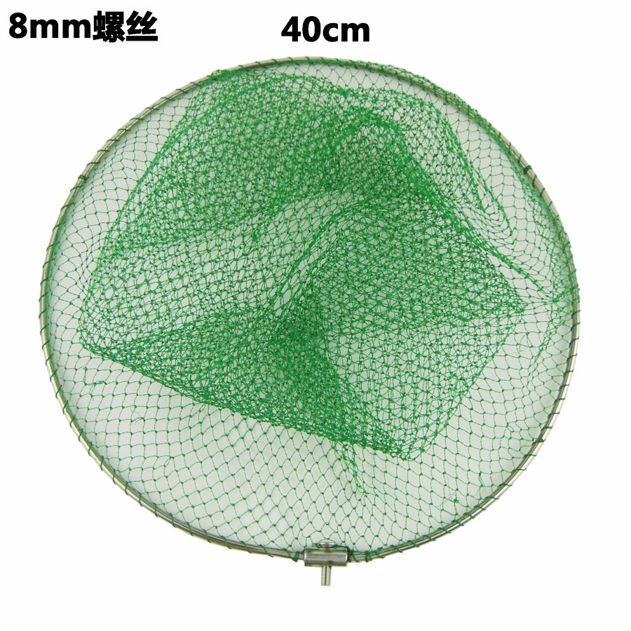 Сачок рыболовный Stainless steel landing net head 40 40cm 8mm приманка для рыбалки venture 3 trulinoya 16 5 10 g