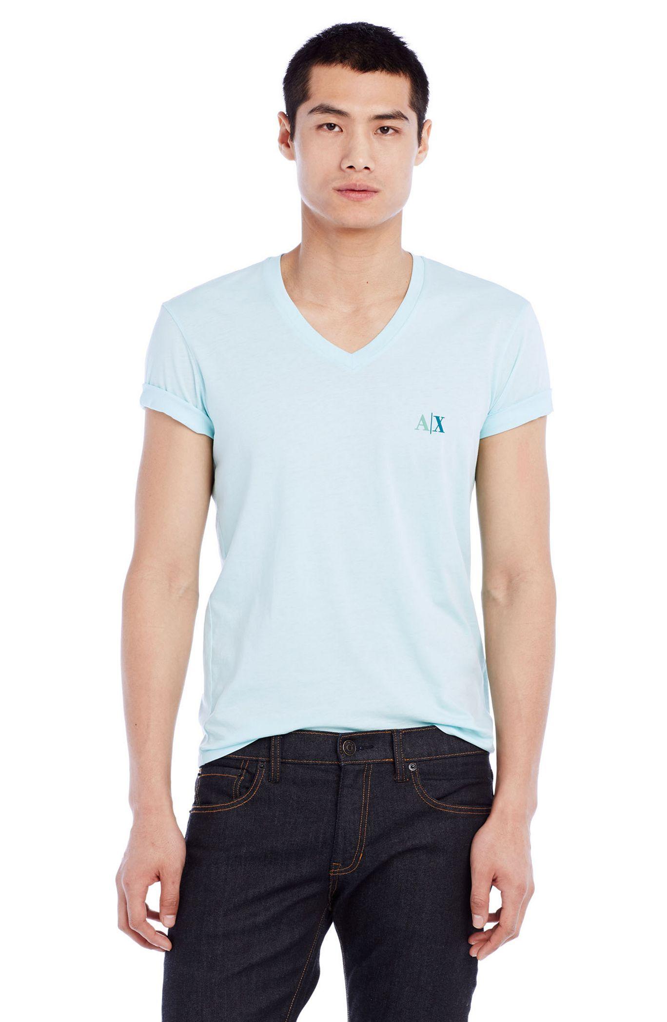 Футболка мужская Armani  2015 AX Exchange женская рубашка armani 85 ax 2015 j5c552