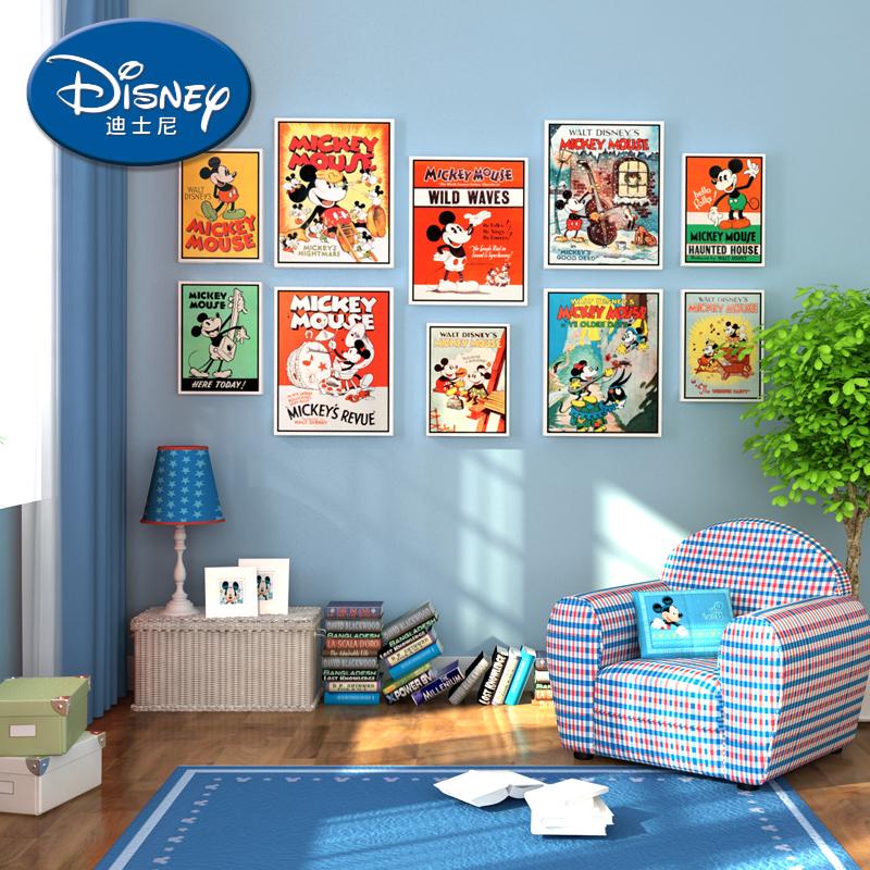 酷漫居迪士尼全套卡通挂画