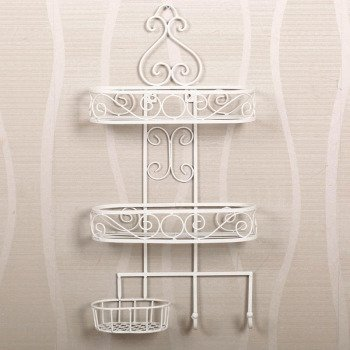 полка Fruit man (goomer) European wrought iron bathroom rack Goomer free shipping european style bathroom accessories luxurious antique bronze single glass shelf cosmetic rack wholesale 62011