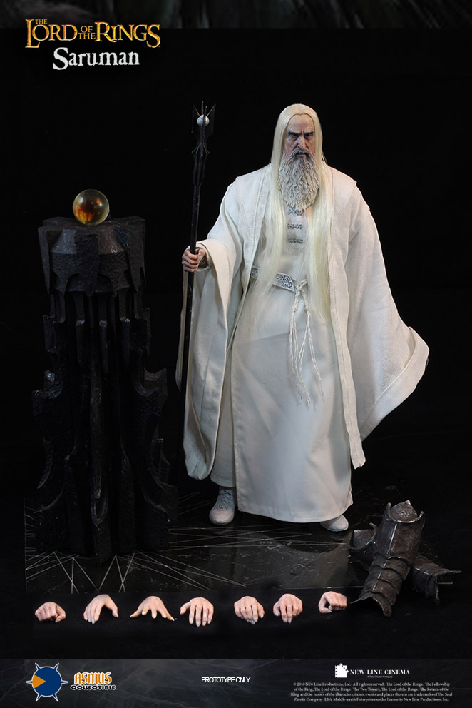 Военные игрушки для детей Asmus toys 1/6 Saruman white purple yellow light led flashlight stainless steel torch 18650 rechargeable uv torch olight jade identification page 2