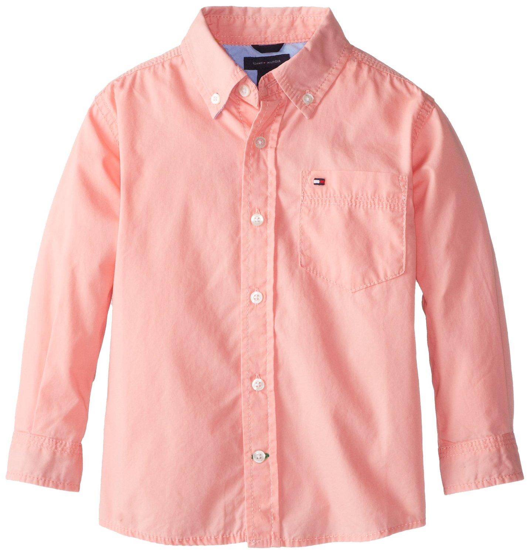 Рубашка детская Tommy hilfiger  2014 2-7 посуда ч риомаге