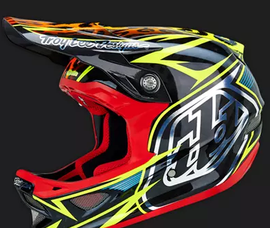 велошлем   2016 TLD TROY LEE DESIGNS D3 SPEEDA YELLOW CF