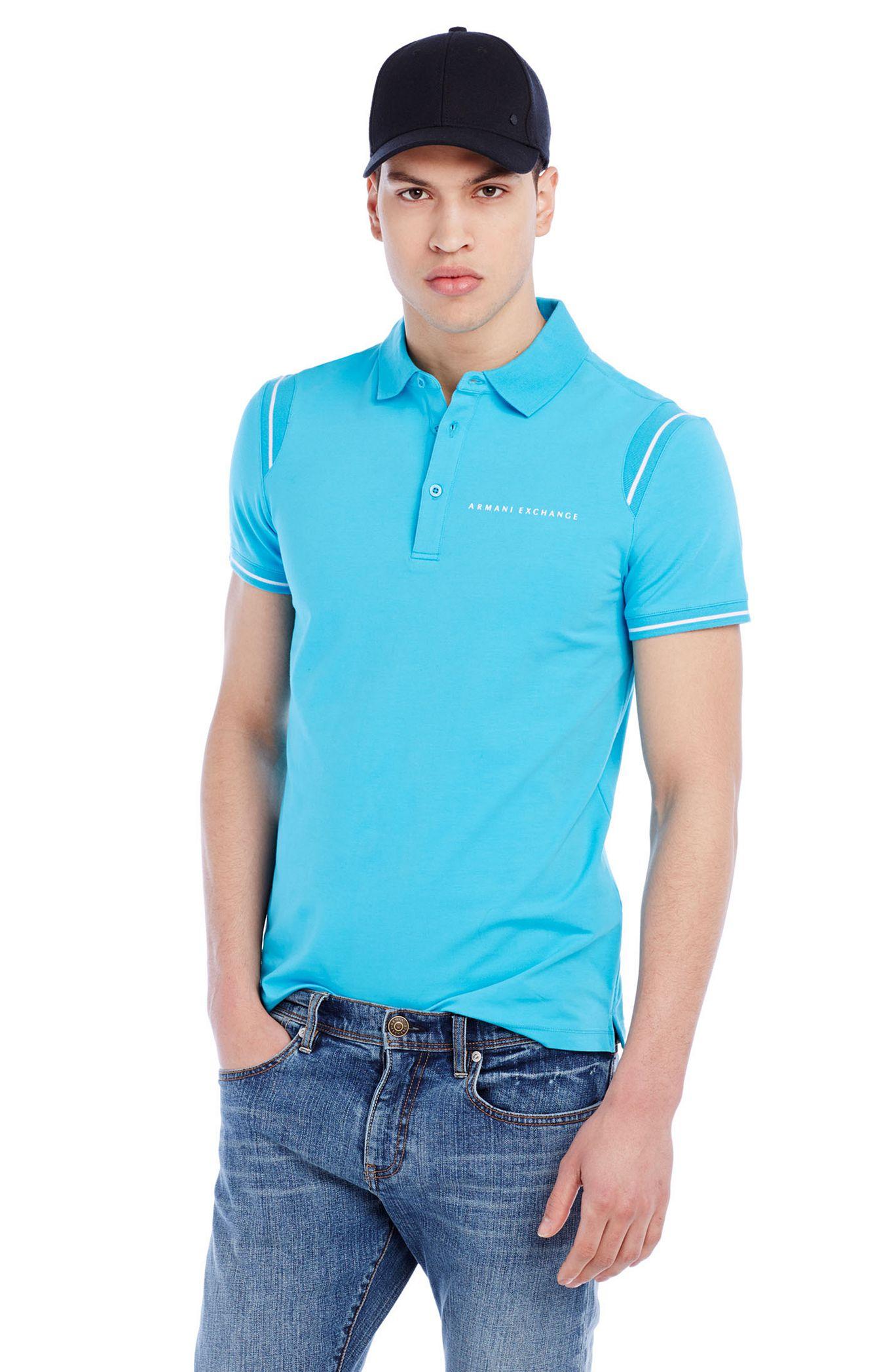 Рубашка поло   2015 AX Armani Exchange POLO женская рубашка armani 85 ax 2015 j5c552