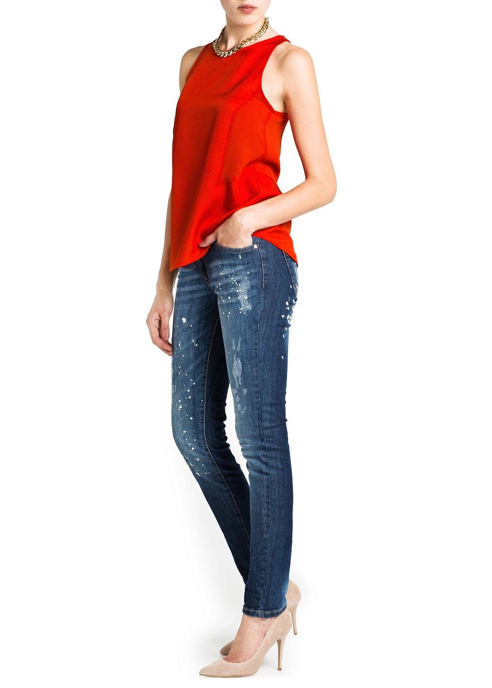 Блузка Mango 11070177 блузка mango 2015319005