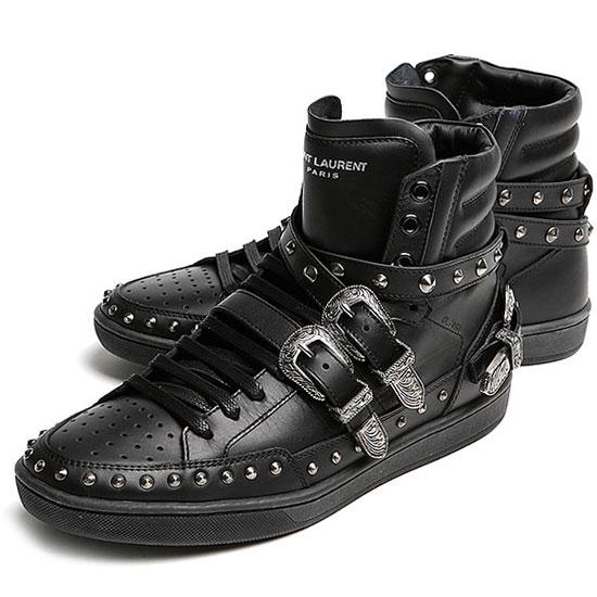 купить Ботинки мужские Yves Saint Laurent  YSL 346798-AQ500-1089 дешево