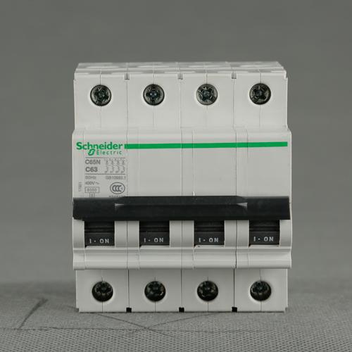 施耐德断路器C65N 4P C63A