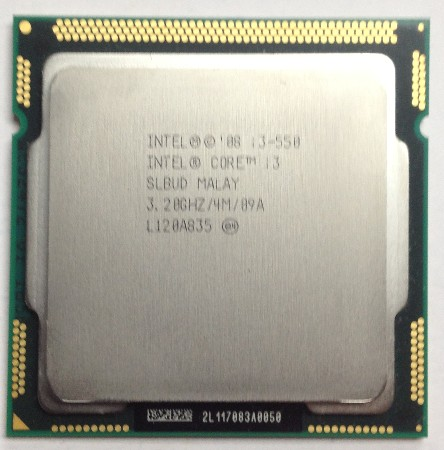 Процессор Intel I3 550 CPU 1156 CPU 9.5 процессор other intel e6700 3 2g 775 cpu
