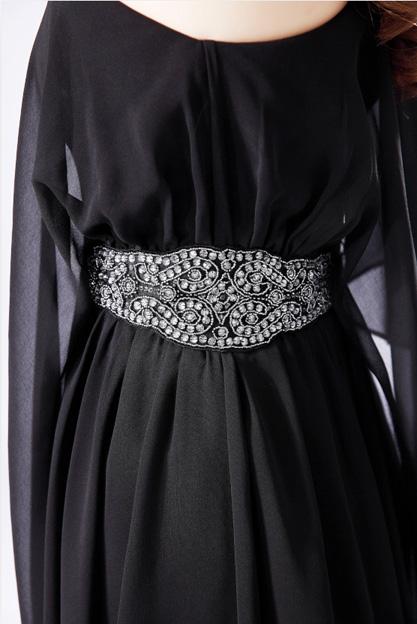 Вечерние платья 2015 году новой партии вечернее платье элегантный тонкий размер, Похудение платья одно плечо бисером платья коктейль платье