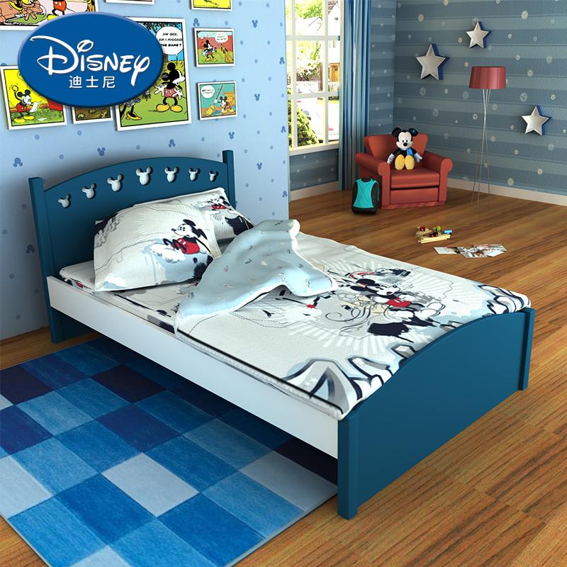 酷漫居迪士尼米奇男孩儿童床