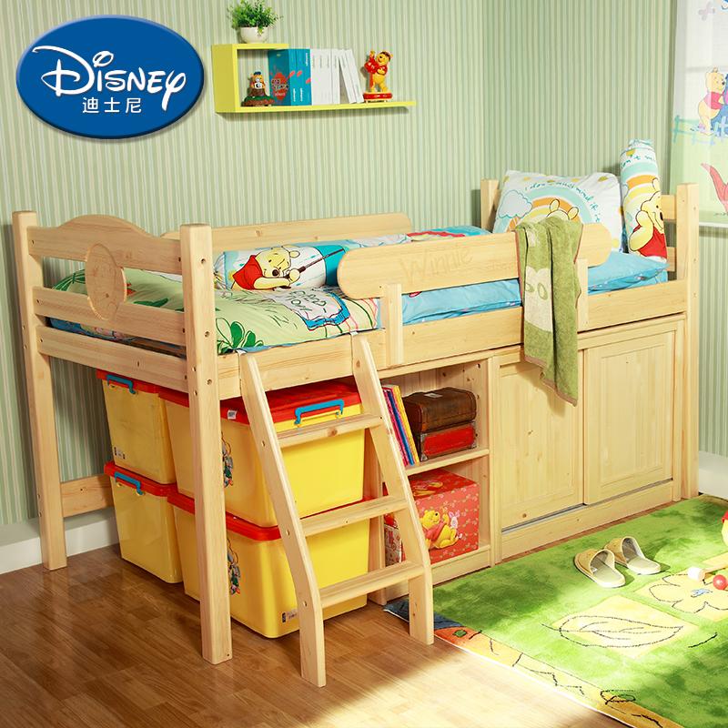 酷漫居迪士尼儿童单人床