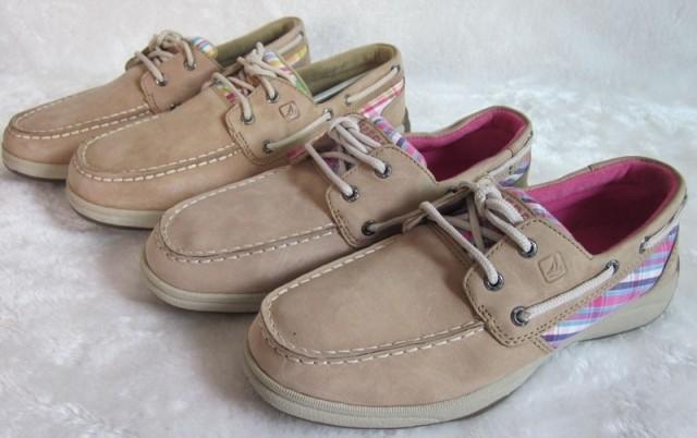 Детская кожаная обувь SPERRY