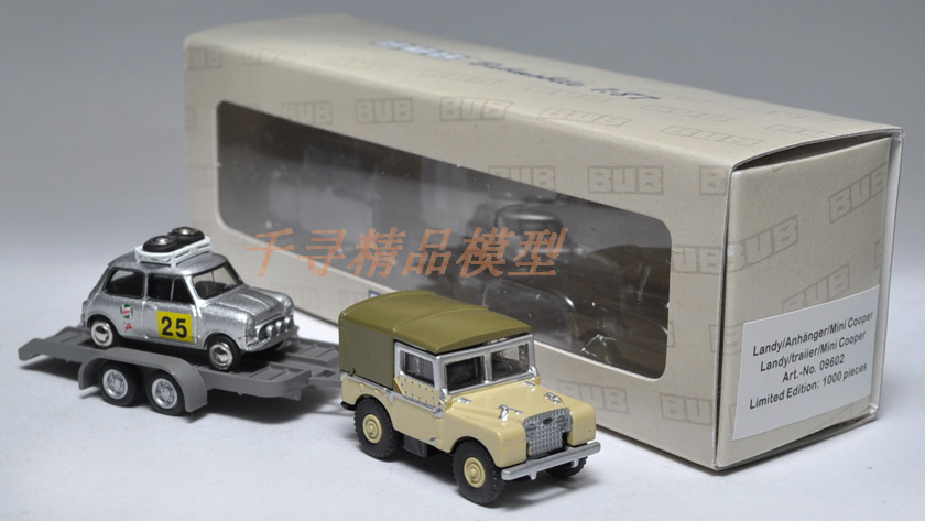 Модель машины OTHER  BUB Land Rover Austin Mini Landy 1:87 руководящий насос range rover land rover 4 0 4 6 1999 2002 p38 oem qvb000050