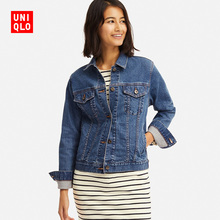 Women's jeans jackets (washed products) 414195 UNIQLO Uniqlo