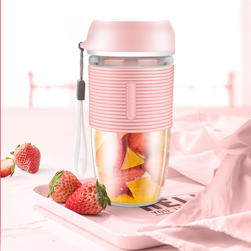 菲力仕便携榨汁机家用迷你果汁机充电随身榨汁杯