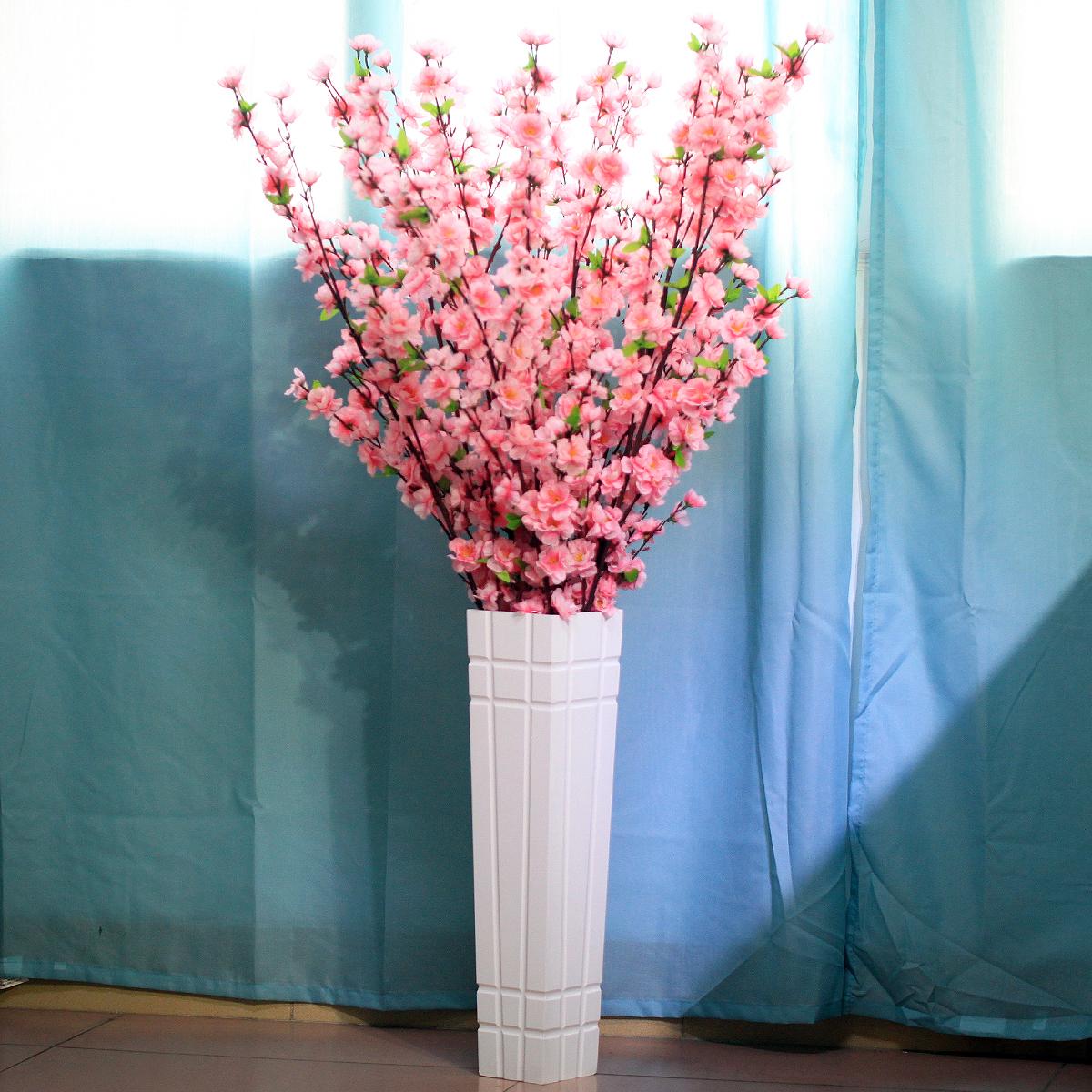 Как сделать цветы на напольную вазу 151