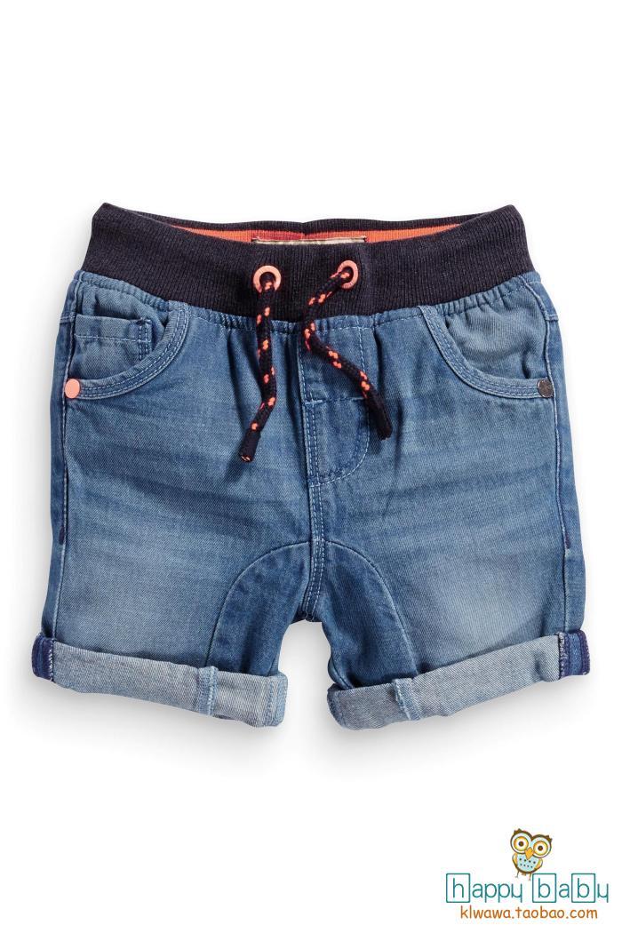 Джинсовые шорты на мальчика