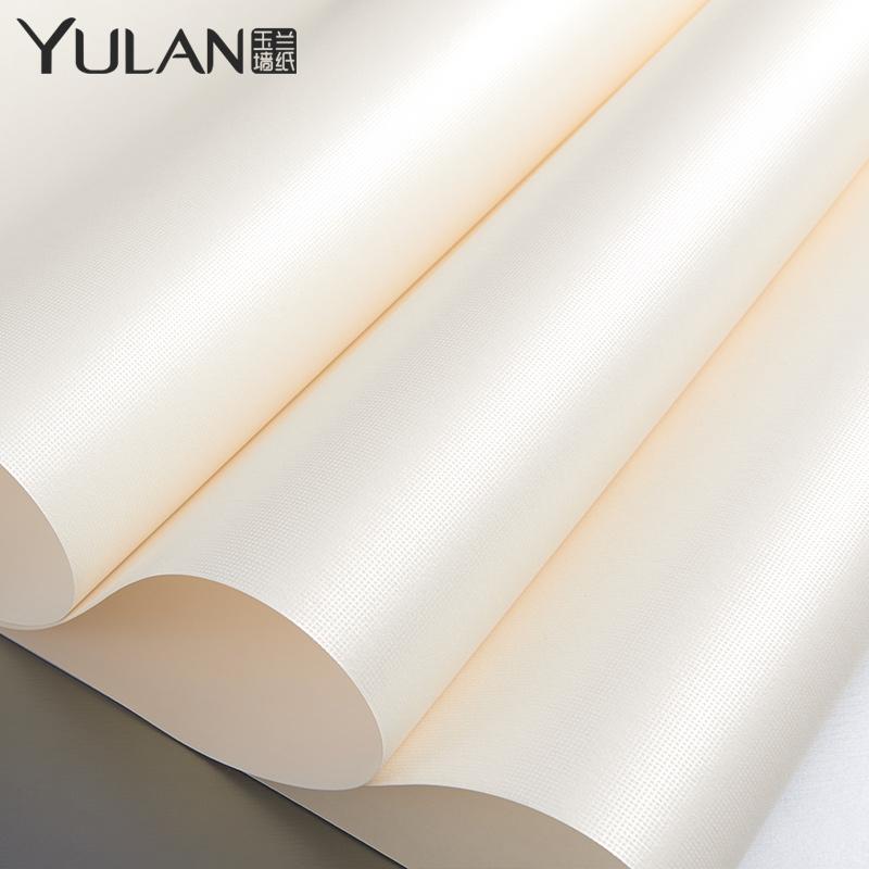 玉兰墙纸素色无纺布壁纸2604