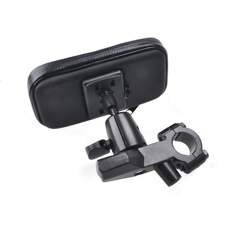 Экипировка для мотоциклиста Велосипеда мотоцикл алюминиевого сплава iPhone5/4S Samsung мобильный телефон водонепроницаемый мешок кронштейн навигации touch-D51.