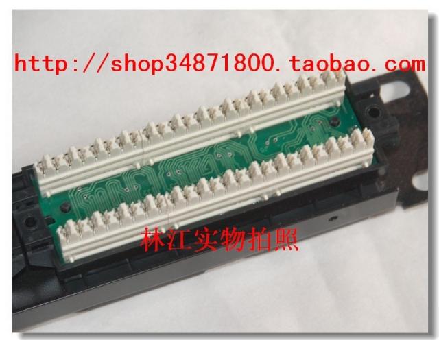 Коммутационный щит Amp супер пять 24-портовый патч патч-панелей панели патч панели компьютерных сетей 24-портовый