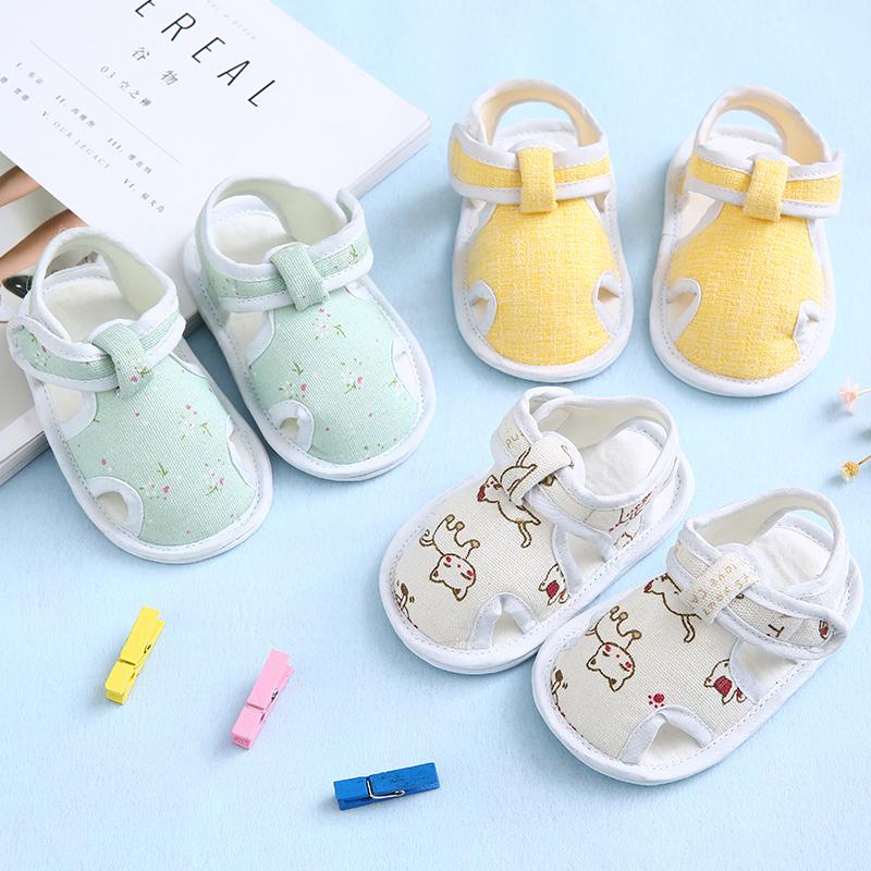 婴儿学步鞋子软底春夏季儿童0地板3布底6春秋12个月男女宝宝防滑