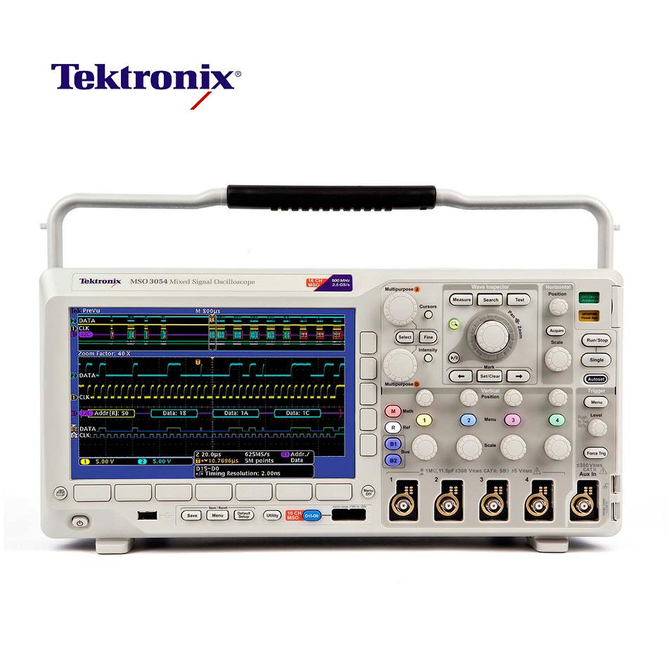 Осциллограф Tektronix MSO3054 500MHz compatible toner tektronix 790 printer bulk toner powder for tektronix phaser 790 790dp 790n toner refill for tektronix toner
