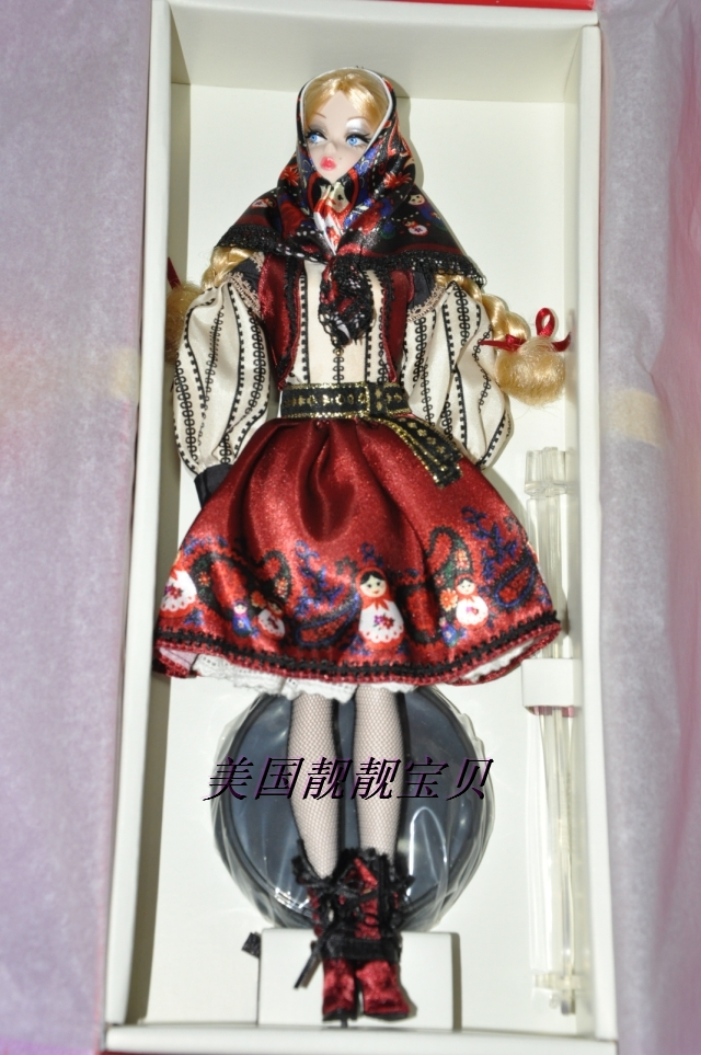 кукла Barbie  2011 Mila Silkstone barbie сказочная балерина barbie