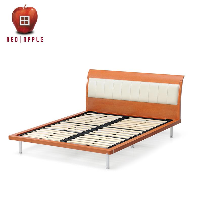 红苹果板式皮靠双人床R802-17