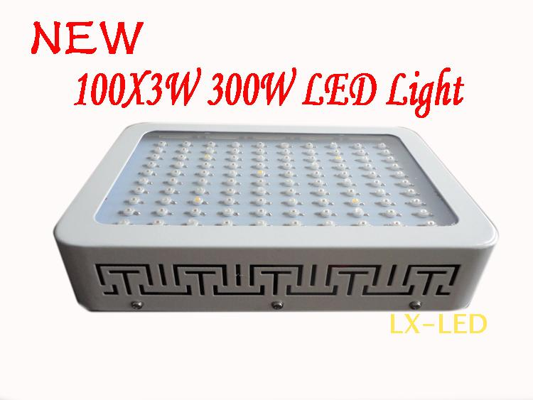 Креативный светильник Guangxi Wu electric LED 300W LED 100X3W Grow Light LED 4pcs lot 72leds 216w full spectrum led grow light ac85 265v ufo led plant lamp red blue uv ir indoor grow tent lighting