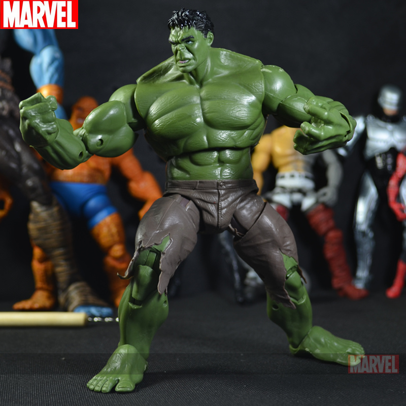 Куклы/ украшения/детали The Incredible Hulk MARVEl Avengers bela 10241 super heroes avengers hulk lab smash set with taskmaster falcon hulk thor turret robot modok action figure toys