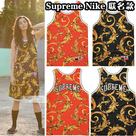 Безрукавка SUP  2014 Supreme Nike Basketball Jersey