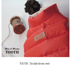 Tooth Double Down Vest