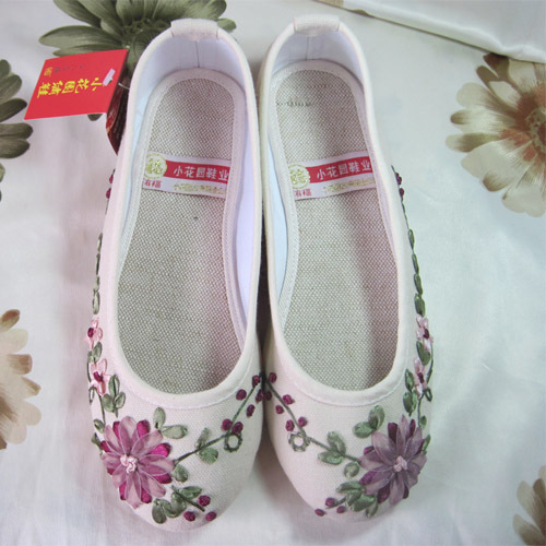 туфли Small garden blessing card embroidered shoes a6023 in garden мармелад 10