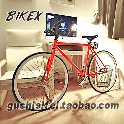 Велосипед с глухой передачей Guchi dead fly Fixed Gear