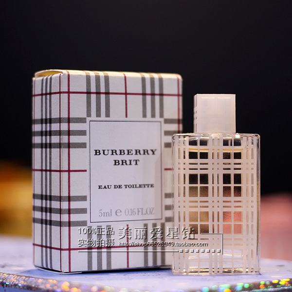 Духи Burberry  Burberrys Brit 5ML духи burberry brit sheer 100ml