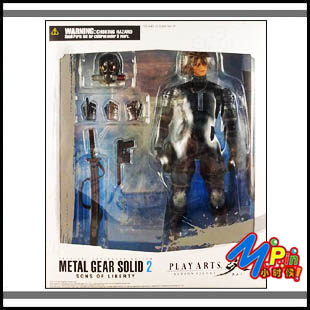 Военные игрушки для детей Super toys )Play Arts METALGEAR SOLID2 Raiden free shipping super deluxe simulation kitchen toys set child play house toys wooden toys christmas gift for girl