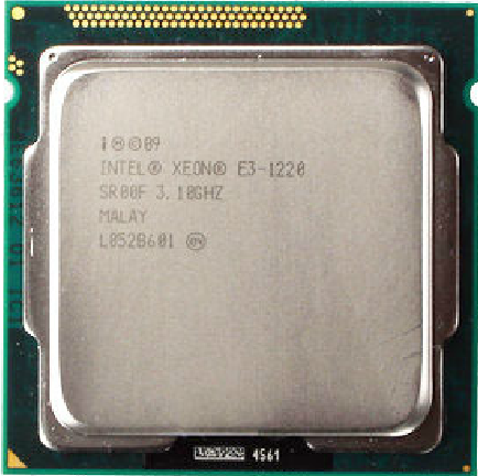 Процессор Intel XEON E3-1220 LGA1155 CPU процессор intel celeron g530 cpu 2 4g lga1155