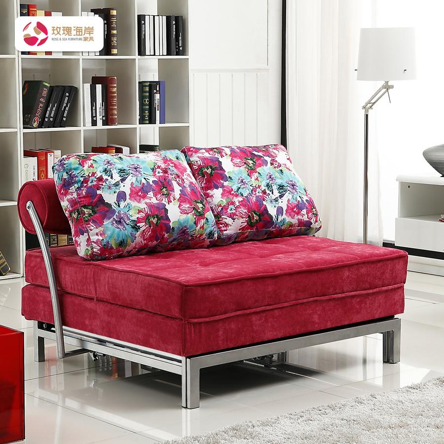 Диван-кровать Cote de granit rose  1.81.51.2 63 rose de mai