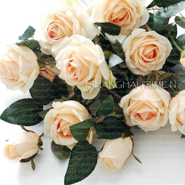 искусственные-цветы-primes-church-14738-primenrolled-champagne-bouquet-rose